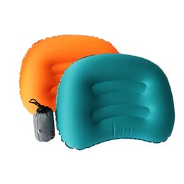 mini travel pillows NZ - Mini TPU inflatable pillow outdoor home travel ultra light portable inflatable pillow camping travel neck pillow