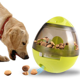 $enCountryForm.capitalKeyWord Australia - Creative Pet Tumbler Interactive Feeders Dog Shaking Food Dispenser Leak Ball Funny Puzzle Dog Self Feeding Toy Puppy Play Bowl Feeder