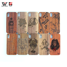 cheap mobile phone covers Canada - In Stock Wholesale Cheap Wooden Cell Mobile Phone Cases Cover For iPhone 6 7 8 X XI XR XS Max