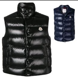 Wholesale High Quality Men Vest Hooded Warm Down Waistcoat White Duck Jackets Duvet Sleeveless Hat Piping Mens gilet