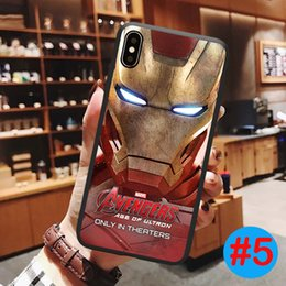 Marvel apple online shopping - Marvel Avengers Cell Phone Case Shockproof Cover Soft Cases For iPhone plus SE X XR XS Max