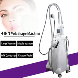 Body slimming roller massage online shopping - Velashape machine for loss weight vacuum roller massage slimming body shaping RF Vacuum Roller Machine clinic use
