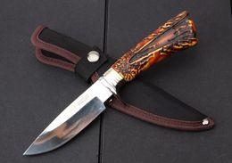 $enCountryForm.capitalKeyWord Australia - Free Shipping SR031A - Mirror smooth retro straight knife 7Cr15 blade outdoor camping hunting knife survival tool multi-tool