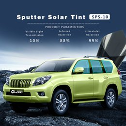 $enCountryForm.capitalKeyWord Australia - 10%VLT Sputter solar tint UV prooft tint Window Film for Car Side Back Rear Window Glass Dark Gray Vinyl with size 1.52x30m