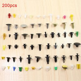 clutch pins Australia - Assortment Rivet Clutch Panel Bumper Fasteners Push Pin Plastic Assorted Car