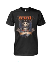 Jack Gifts Australia - Jack Skellington Tool T Shirt Halloween Gift Black Cotton Men Shirt M-3XL