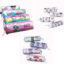 $enCountryForm.capitalKeyWord NZ - LOL Girls Cartoon Coin Purse Laser Pencil Bags Luxury Long Wallet Kids Brand Card Holder Pencil Case school Stationery anime purse