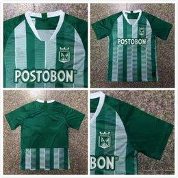 in stock!2018 2019 Atletico Nacional Medellin Fußballtrikot MORENO TORRES  RENTERIA LUCUMI Anpassen 18 19 Home Green Football-Shirt 4b51980ef