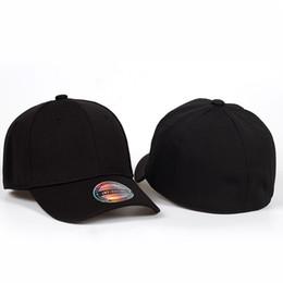 8af74b63d10 2018 new Black Baseball Cap Men Snapback Hats Caps Men Flexfit Fitted  Closed Full Cap Women Gorras Bone Male Trucker Hat Casquet  17457