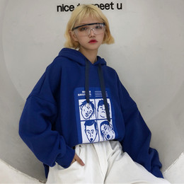 $enCountryForm.capitalKeyWord Australia - Fashion Sweatshirts Women 2018 Korean Ulzzang Harajuku Cartoon Printed Loose Hooded Sweatshirt Hoodies Female Casual Clothing C19040301