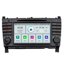 """Rw Player Australia - COIKA 7"""" Android 9.0 Car DVD Multimedia Player For BENZ C class W203 CLC W203 CLK Class W209 CLS W219G W463 GPS Navi SWC DVR BT Music"""