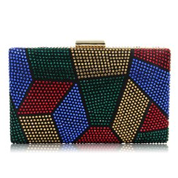 $enCountryForm.capitalKeyWord UK - 2019 New European and American collection dinner bag hand bag high-end full multi-color evening chain hand