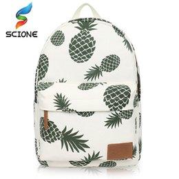 Arts Books Australia - Hot Special Designed Backpack Pineapple Printing School Bags For Teenager Girls Book bags Travel Bag Laptop Rucksack #159076