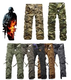 New combat paNts online shopping - 2017 Worker Pants CHRISTMAS NEW MENS CASUAL MILITARY ARMY CARGO CAMO COMBAT WORK PANTS TROUSERS COLORS SIZE