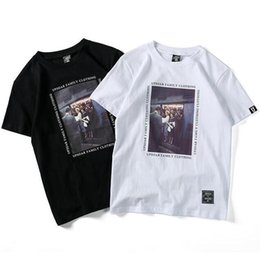 Chinese  Mens Short Sleeve Summer T Shirts Letter Picture Printed Tee Black White 2 Colors Fashion T shirt S-2XL manufacturers