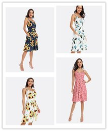 $enCountryForm.capitalKeyWord Australia - 2019 designer women dresses Slip Dress Women summer clothes Floral print Sexy Backless Hot selling China women clothing manufacturer