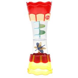 Developmental Toys Australia - Baby Hourglass Style Water Whirly Wand Cup Waterwheel Toys Bath Water Swim Swimming Beach Developmental Game