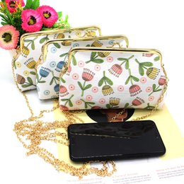 $enCountryForm.capitalKeyWord Australia - NICOLE & CO 2019New Women Cotton Fabric Coin Purse Messenger Chain Phone Bag Card Wallet Change Purse For Girl Original Coin Bag