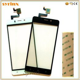 Free Touch Screen Phones Australia - Syrinx 5.0 inch Free 3M Tape Mobile Phone Touchscreen Panel Sensor For Tele2 Maxi LTE Touch Screen Digitizer Front Glass
