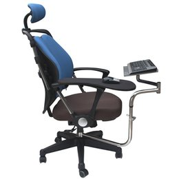 Motion Games Australia - BL OK010 Multifunctoinal Full Motion Chair Clamping Keyboard Support Laptop Holder Mouse Pad for Compfortable Office and Game
