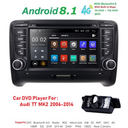 Radio Gps Free Map Australia - Android 8.1 4-Core Car Radio Stereo DVD Player GPS Navigation For AUDI TT MK2 DAB OBD2 Bluetooth Headunit +Free Rear Camera+Map