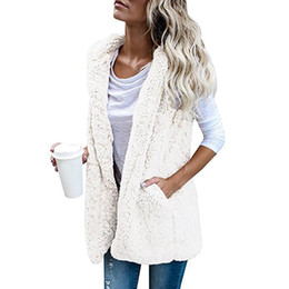 $enCountryForm.capitalKeyWord Australia - Nice Nice Winter Pop Tide European American Womens Coat Cashmere Solid Pockets Scarf Collar Open Stitch Slim Drop-shoulder Coat