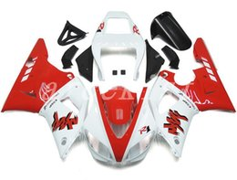 $enCountryForm.capitalKeyWord UK - New ABS Fairing Kits Fit For YAMAHA YZF-R1 98 99 YZF1000 1998 1999 R1 fairings bodywork set Free custom red white