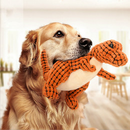 $enCountryForm.capitalKeyWord NZ - Pet Supplies Wholesale Dog Biting Toy Sounding Plush Pet Chewing Dinosaur Toy