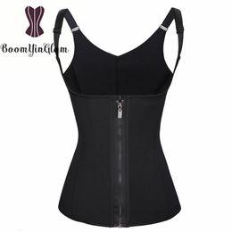 a13ef659b9 Neoprene Waist Trainer Australia - Hot Shapers Neoprene Sauna Sweat Vest  Waist Trainer Women Body Slimming