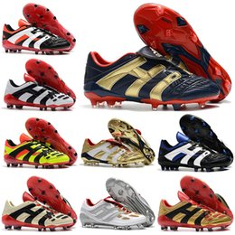 1717aae56bf5 Mens Football Boots Predator Accelerator Firm Ground ZINÉDINE ZIDANE Cleats  Predator Precision FG TR DAVID BECKHAM Soccer Shoes