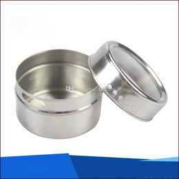 $enCountryForm.capitalKeyWord UK - Stainless Steel Sugar Bowl Pot Seasoning Cans Kitchen Spice Bottle Pepper Shakers Salt Container