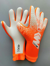 Taille 8 9 10 Gants de gardien de but professionnels Latex Football Gardien de football Luvas Guantes