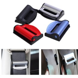 Gm accessories online shopping - GM seat belt clip safety adjustable automatic stop buckle plastic clip color interior accessories car shape