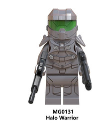 Chinese  Halo Spartan Soldier Series Model Warrior With Real Weapon Figures Building Blocks Children Toys Gift manufacturers
