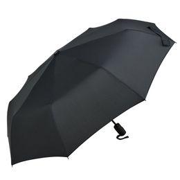 Umbrella Anti UK - Fully automatic fashion business rain and rain dual-use umbrella to strengthen wind-resistant fiber 8 bone anti-UV umbrella