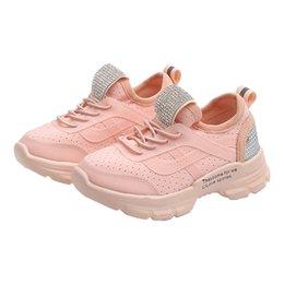 $enCountryForm.capitalKeyWord UK - 2019 New 30% OFF Spring White Light Breathable Children Walking Sneaker Thick Soled Flexible Boy Girl Kids Outdoor Jogging Shoe
