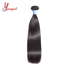 Natural Machines Australia - Brazilian Peruvian Malaysian Indian Straight Virgin Hair 8-28 Inches Natural Color 1 Pcs Only Can Buy 2 3 4 Pieces Machine Double Weft
