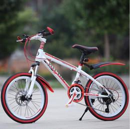 Aluminum Bmx Bicycle Australia - Mountain Bike 20-Inch 21-Speed Speed Shock Absorber Disc Brake Adult Children's Bicycle