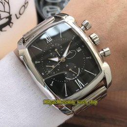$enCountryForm.capitalKeyWord NZ - 4 Colors cheap Luxry New Kalpagraphe Black Date Dial Automatic Mechanical Mens Watch Silvery Case 316L Steel Strap Multi-function Watches