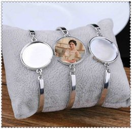 sublimation blank bracelets for women fashion hot transfer printing bracelet jewelry consumables New arrvial on Sale