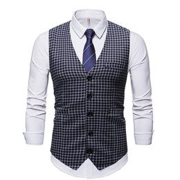mens wedding shirts red Canada - Fashion Explosion Models 2020 Fall Within The New Mens Designer Shirt Wedding Casual Vest New Winter Ride Vest Europe and America wholesale