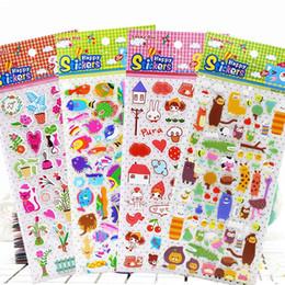 Diy Kawaii Stationery Australia - 100 Sheet ' Cute Zoo ' Cartoon Stickers Kids Toys 3D DIY Kawaii Diary Decoration Scrapbooking kindergarten gift Stationery