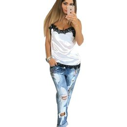 b1463c4031958c Blouse For women 2019 Summer Shirts Sleeveless Tops Black Lace Shirt Beach  Tops Blusas shirt Femme top clothes kawaii GV554