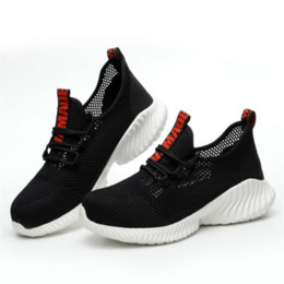 men's breathable summer shoes Australia - Summer Sneakers Lightweight Work Shoes Men's Breathable Anti-smashing Anti-piercing Safety Shoes Site Casual Protection Boots