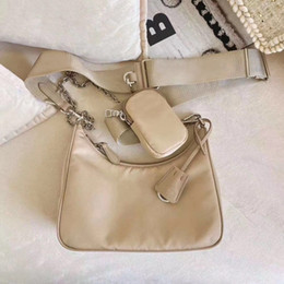 Wholesale Canvas Hobo shoulder bag for women Chest pack lady Tote chains handbags presbyopic purse messenger bag lady handbags canvas tote wholesale