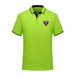 D.C. United 2020 Business casual POLOS Comfortable football POLO shirt men short sleeve polo soccer men training polo shirt