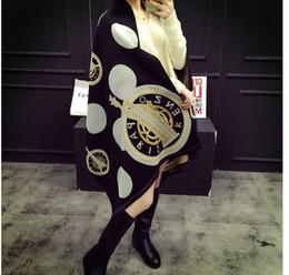 Tartan Scarf Thick Australia - High Qualtiy Imitation cashmere Womens scarf Big Size 180x65cm Scarves horse pattern design Scarf for women Thick Shawl 4 colors chose A66rt