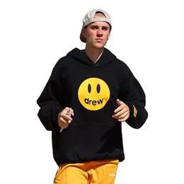 $enCountryForm.capitalKeyWord NZ - Justin Bieber drew house Mascot HOODIE Autumn Spring Style Hip Hop Drew House TIE-DYE Women and Men Sweatshirt