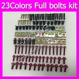 r1 fairing bolts Australia - Fairing screws Full bolts kit For YAMAHA YZFR1 13 14 15 YZF R1 YZF 1000 YZF1000 YZF-R1 2013 2014 2015 MC83 OEM Body Nuts bolt screw Nut kit