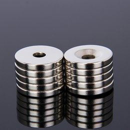 $enCountryForm.capitalKeyWord NZ - ardware Magnetic Materials 20 x 3mm 5mm Hole 10pcs N52 Strong Ring Round Magnets Rare Earth Neodymium Circular Permanent Magnet Super mag...